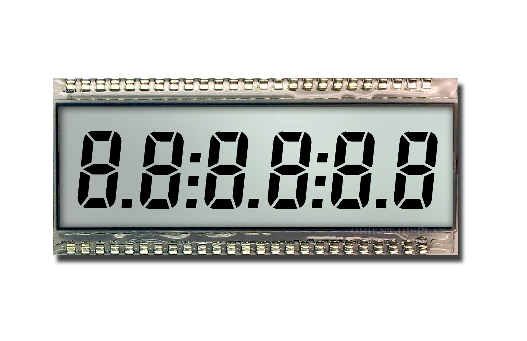 OD-609R (6 Digit LCD Glass Panel)